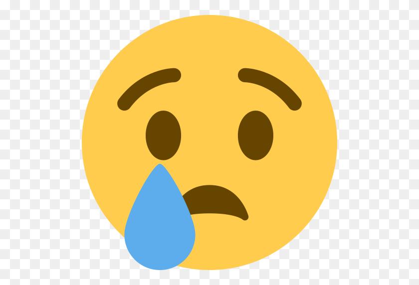 512x512 Crying Face Emoji Crying Emoji - Sad Emoji Clipart