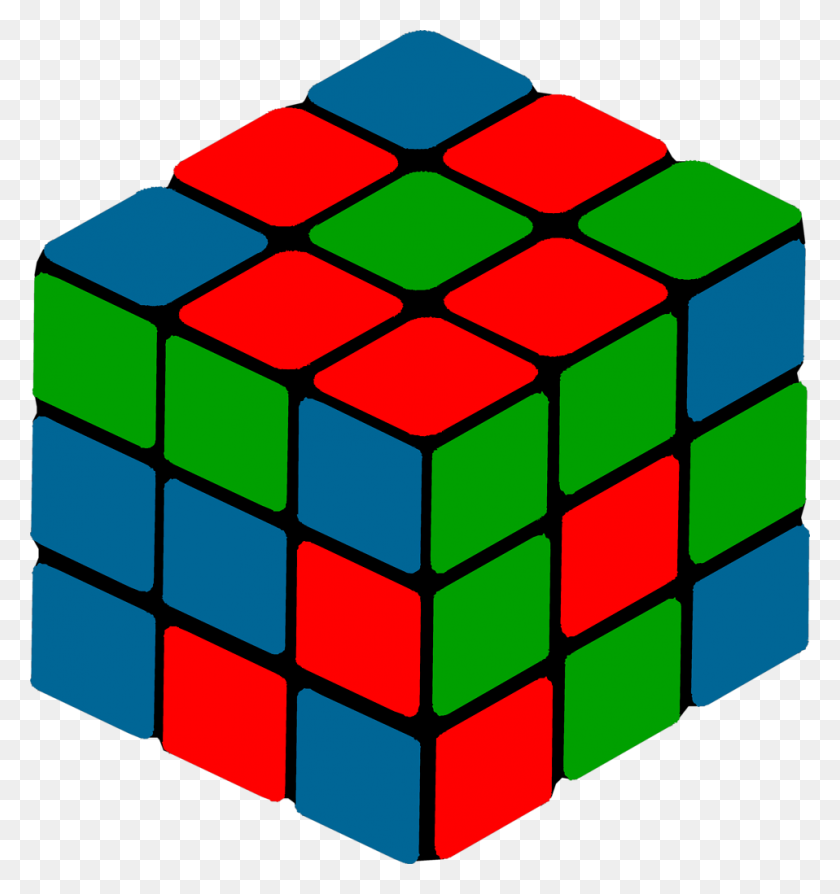 Cube Free Stock Photo Illustration Of A Puzzle Cube - Rubix Cube Clipart