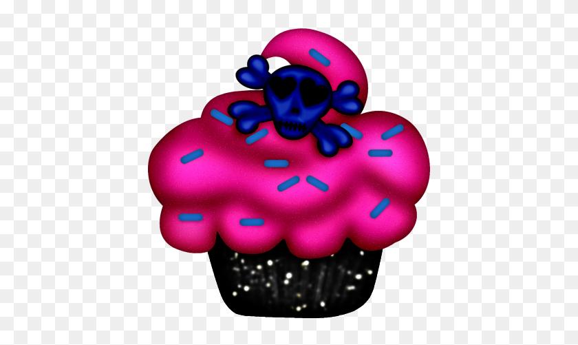 Cupcake Clip Art Pretty - Pink Cupcake Clipart