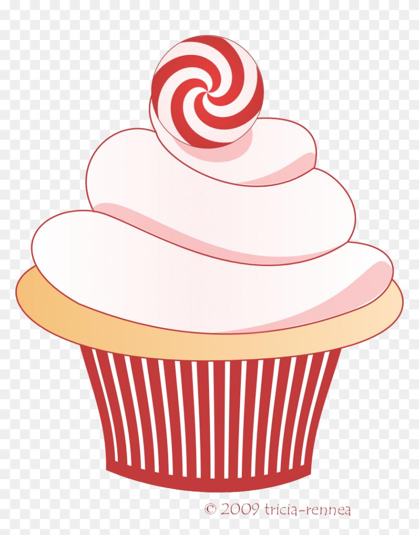 Christmas Wreath Cupcakes | The Cake Blog