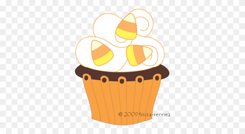 Cupcake Clipart Image Blue And Pink Cupcakes - Cupcake PNG