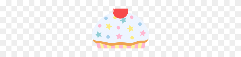 Cupcake With Sprinkles Clipart Cupcake Muffin Birthday Cake Clip - Pink Cake Clipart