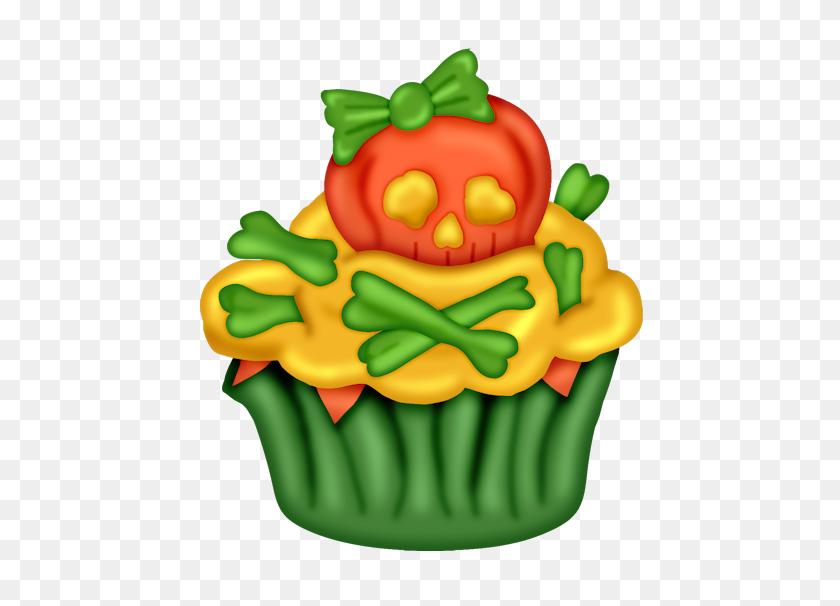 Cupcakes Cupcakes - Halloween Cupcake Clipart