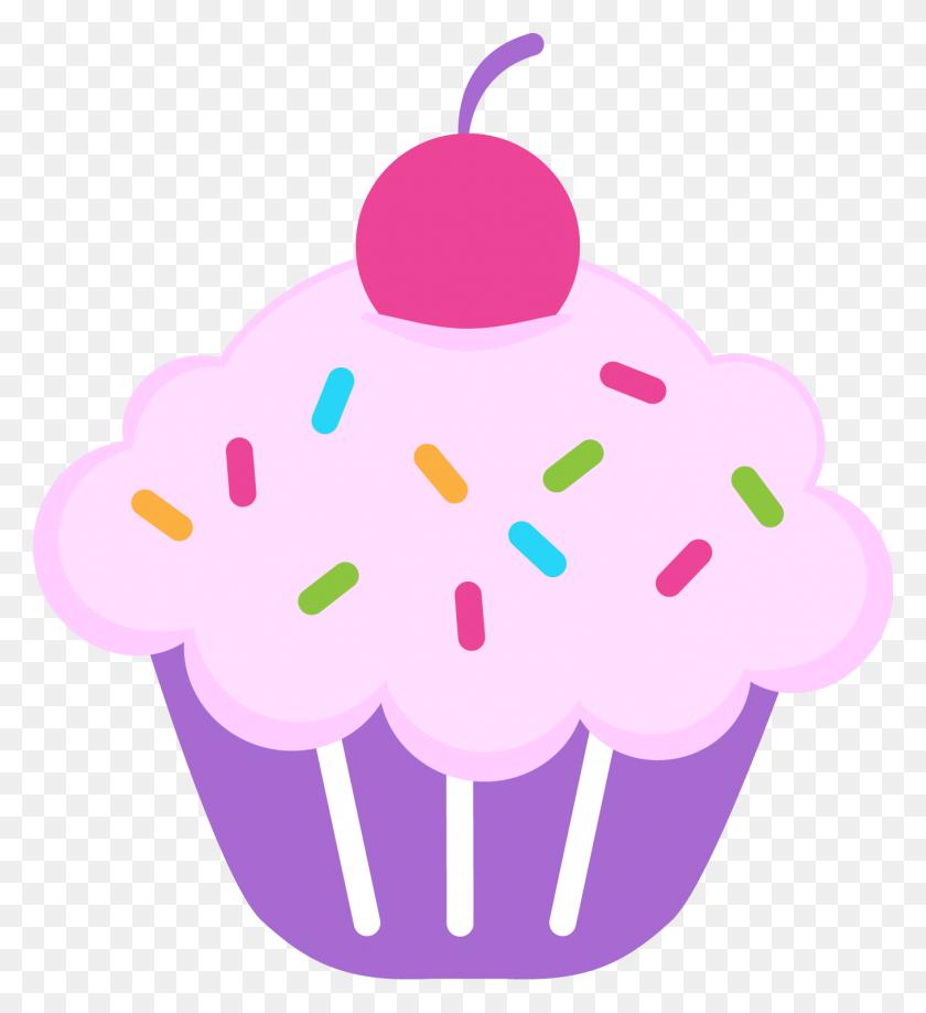 Cupcakes Dibujos - Pink Cupcake Clipart