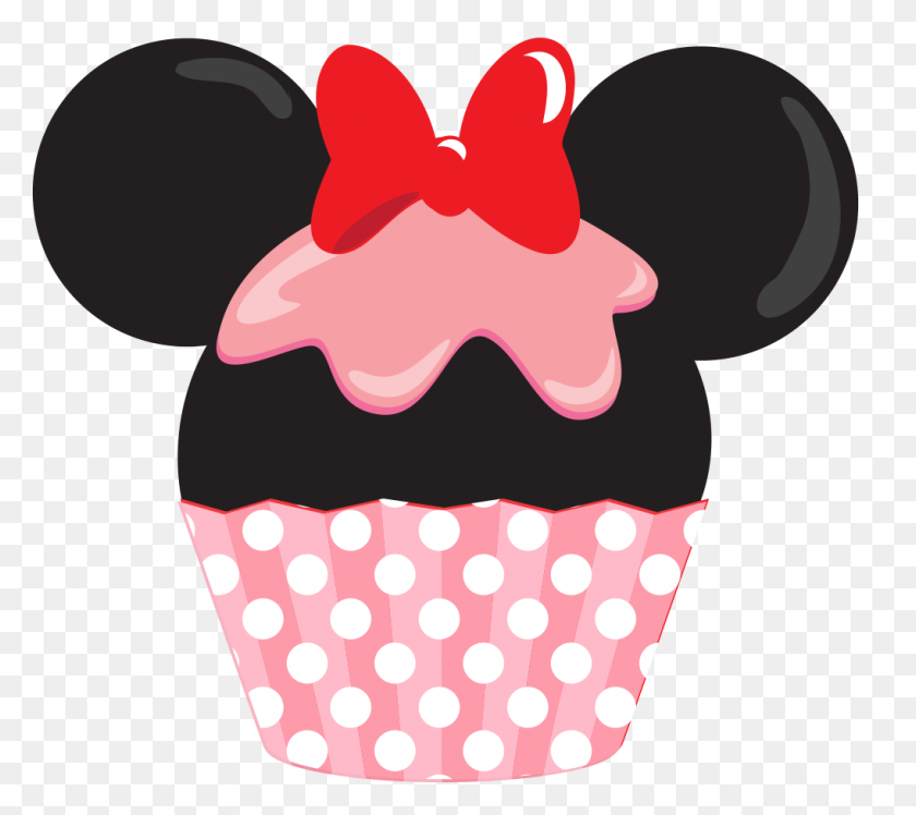Cupcakes Png Minus - Minnie Head PNG