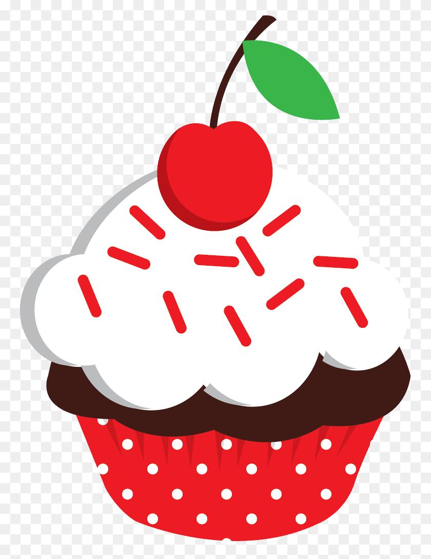 Cupcakes Scrapbook Recipe Book - Recipe Book Clipart