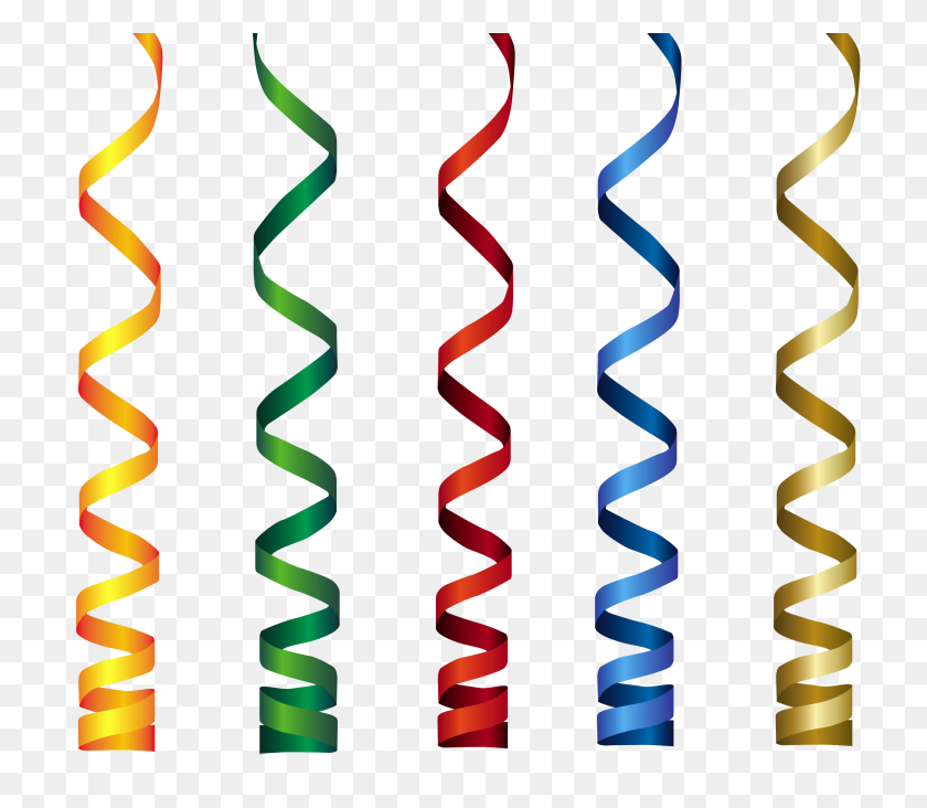 Curly Ribbons Transparent Png Clip Art Gallery - Ribbon Banner Clipart