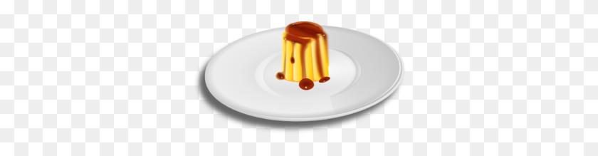 Custard Dessert Clip Art - Dessert Clipart