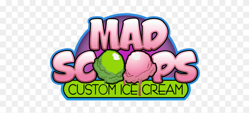 520x321 Custom Ice Cream Mad Scoops - Ice Cream Scoop PNG