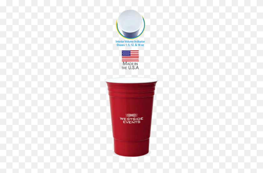 Custom Party Cups Customizable Double Walled Solo Cups Go - Red Solo Cup PNG
