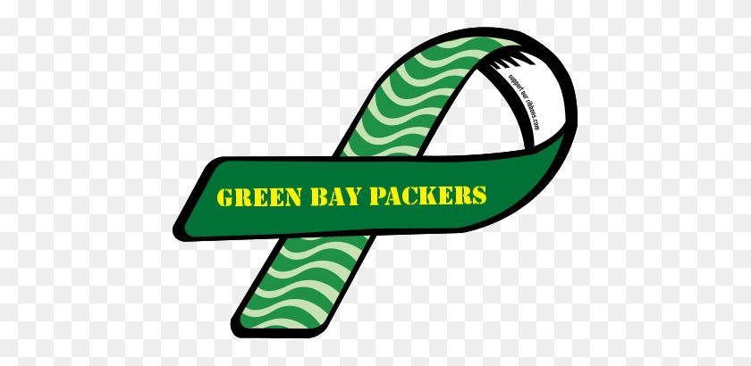 Custom Ribbon Green Bay Packers - Green Bay Packers Clip Art