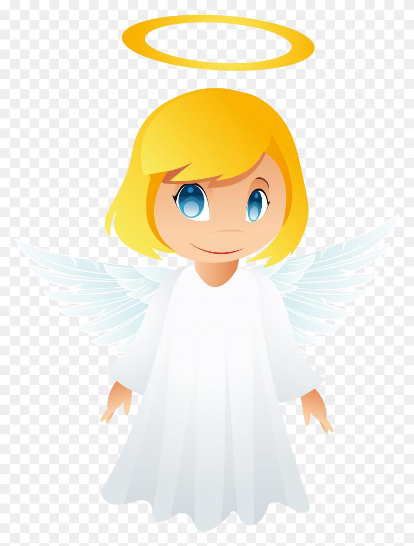 Cute Angel Clip Art Baby Angels Cartoon Clipart Angels - Simpsons Clipart