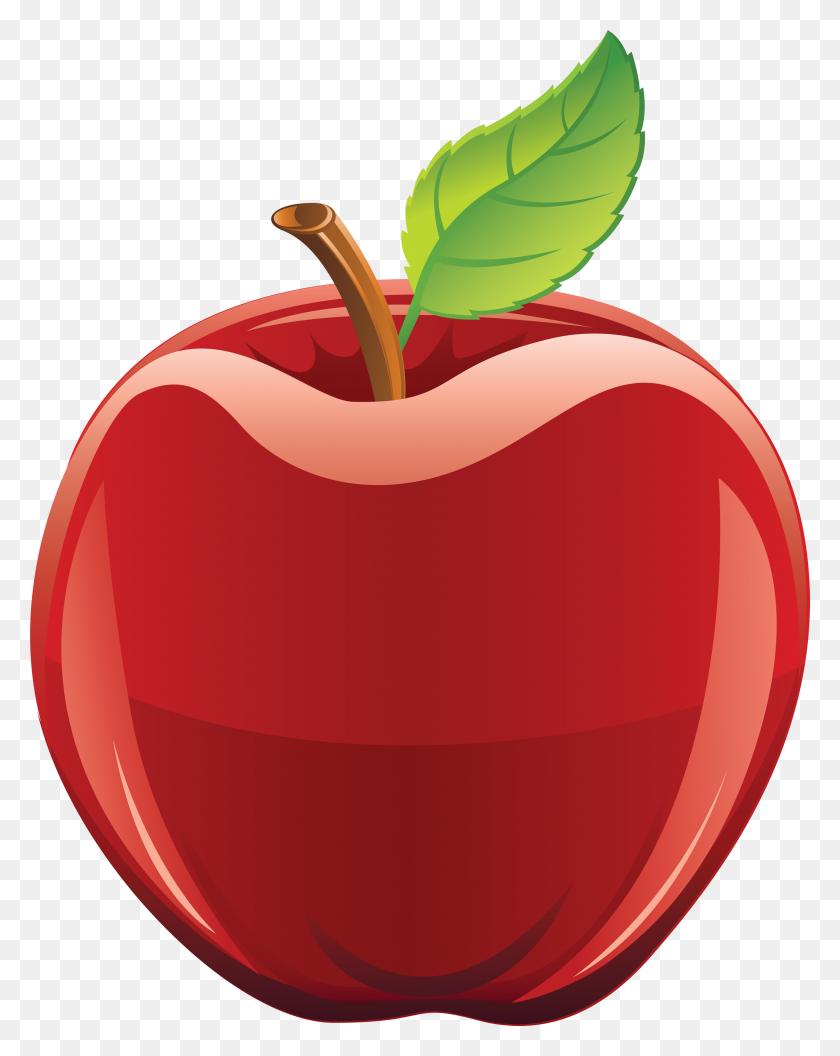 Cute Apple Clip Art Free Clipart Apple - Fall Apple Clipart