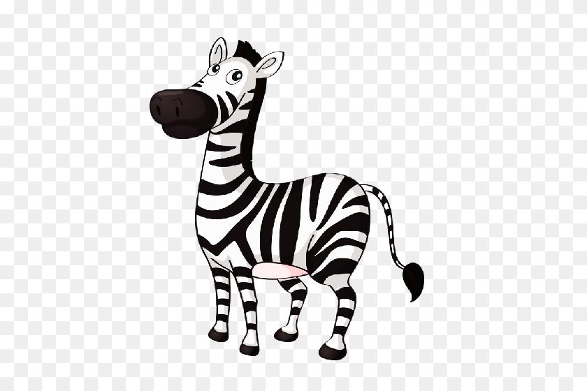 Cute Baby Zebra Cartoon Pictures Clip Art - Zebra Clipart