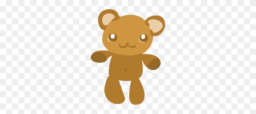 Cute Bear Cute Baby Girl Clip Art Cute Teddy Bear Vector - Stuffed Bear Clipart