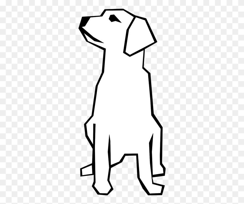 Cute Brown Dog Sitting Down - Brown Dog Clipart