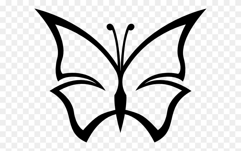 Cute Butterfly Clip Art - Cute Butterfly Clipart