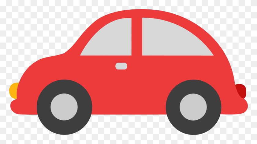 4916x2605 Cute Car Illustration - Free Classic Car Clipart