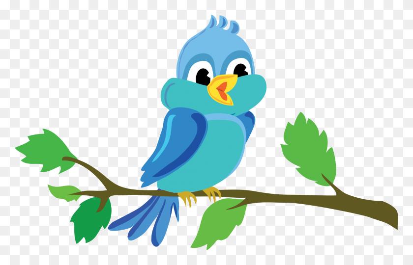 Cute Cartoon Bird Chirping Icons Png - Cartoon Bird PNG