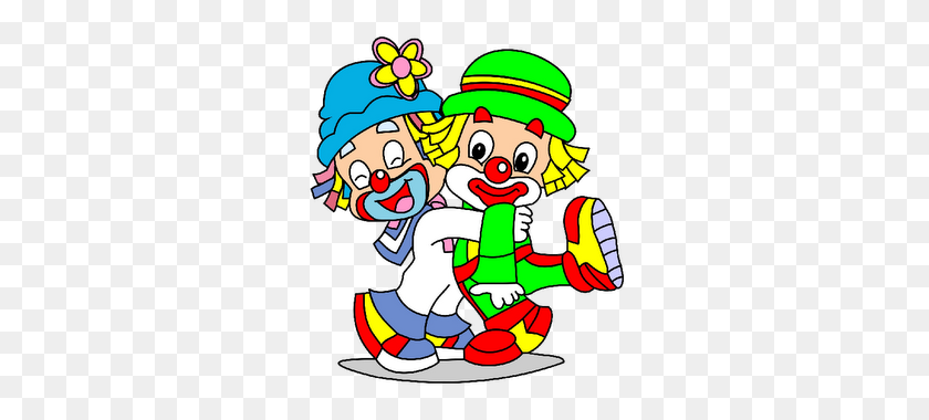 Cute Cartoon Clowns - Cute Clown Clipart