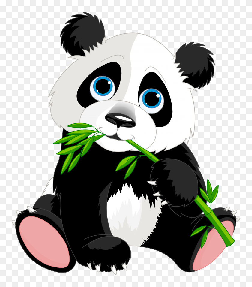 Cute Cartoon Panda Cute Cartoon Panda Bears Clip Art Cartoon - Wilderness Clipart