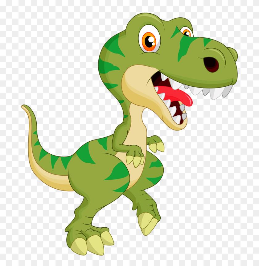 Cute Cartoon's Dinosaur Party - Dinosaur Birthday Clipart