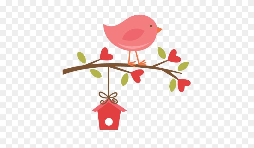 Cute Clipart Bird On A Branch Clip Art Bird Cute Clipart Tm Vi - Cute House Clipart
