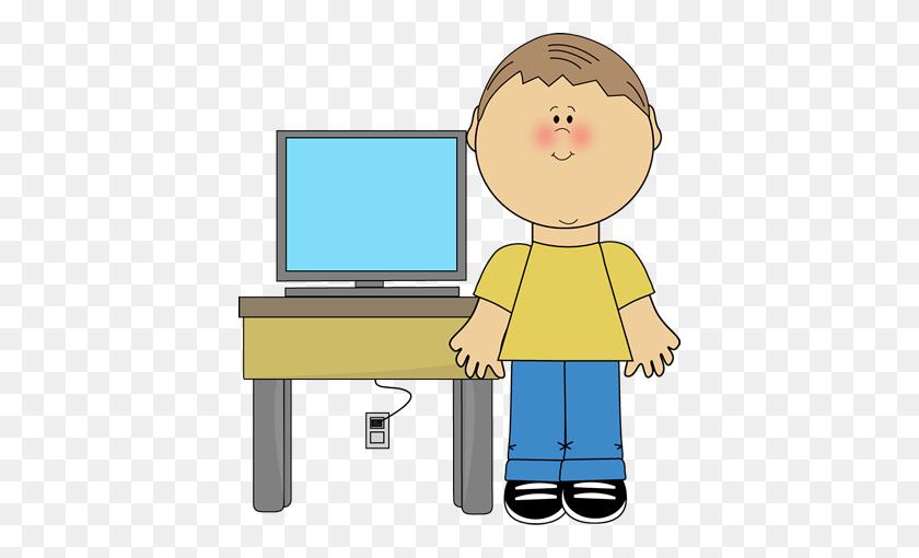 Cute Clipart Computer Clip Art Images - Tv Screen Clipart