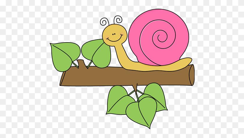 Cute Clipart Snail - Pretty Border Clipart