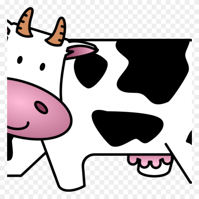 Cute Cow Clipart Free Cute Friendly Cartoon Cow Clip - Cow PNG