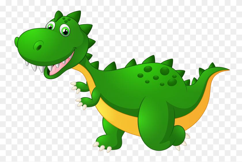 5157x3318 Cute Dragon Cartoon Png Clipart - Free Dragon Clipart