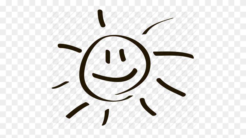 Cute, Emoji, Emoticon, Face, Smile, Smiley, Sun Icon - Smile Icon PNG