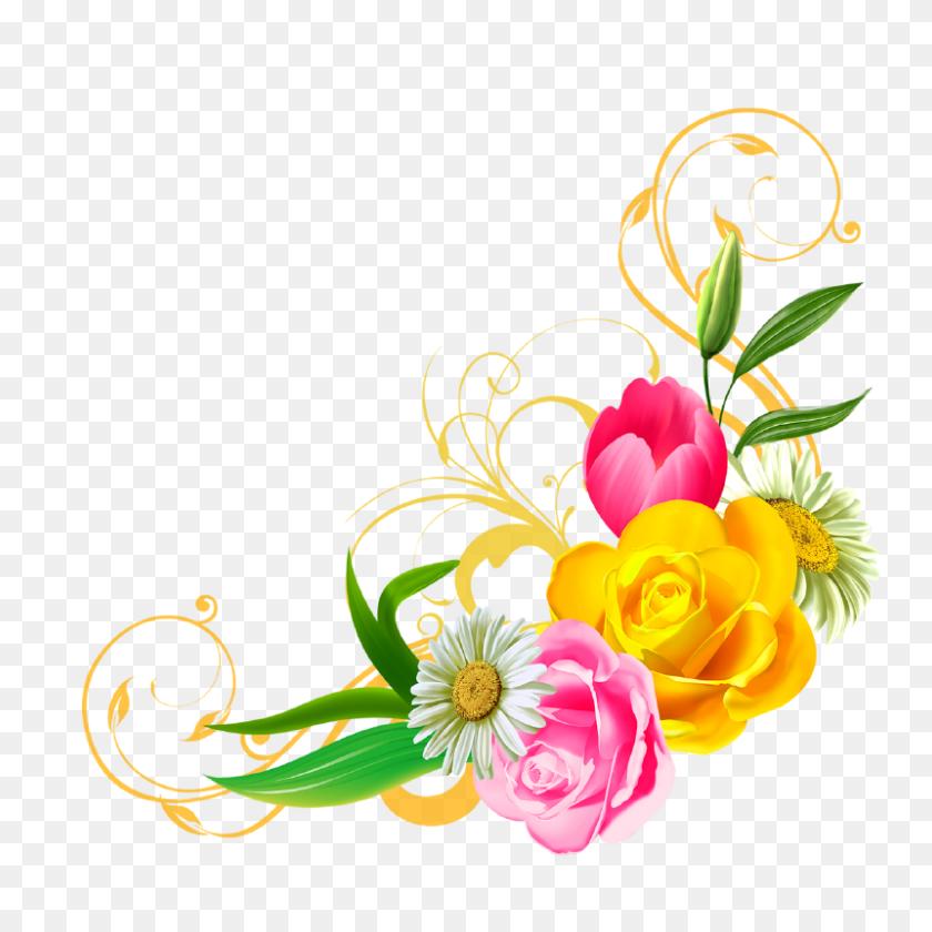 Cute Flower Clip Art - Louisiana State Clipart
