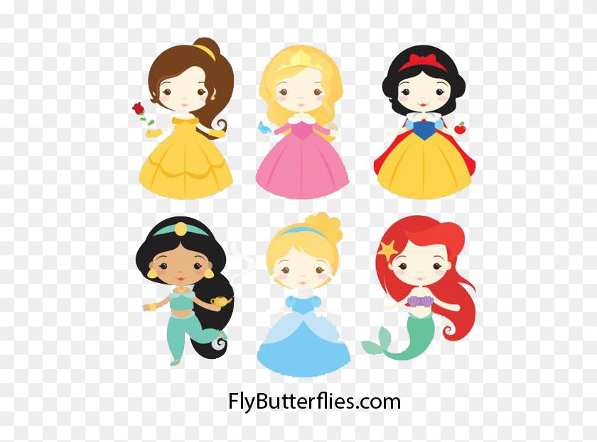 Cute Little Mermaid Png Flybutterflies - Little Mermaid PNG