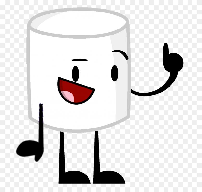 Cute Marshmallow Clip Art, Popular Items For Cute Marshmallow On Etsy - Marshmallow On Stick Clipart