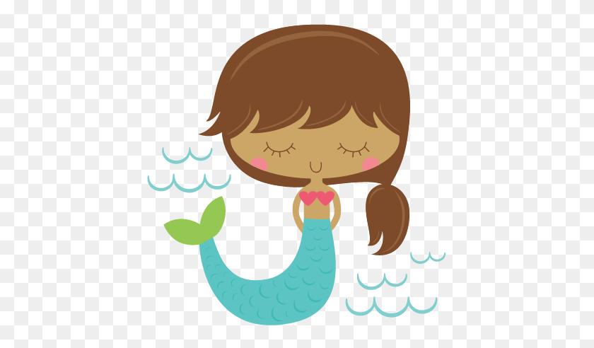 Cute Mermaid Cliparts - Mermaid Shell Clipart