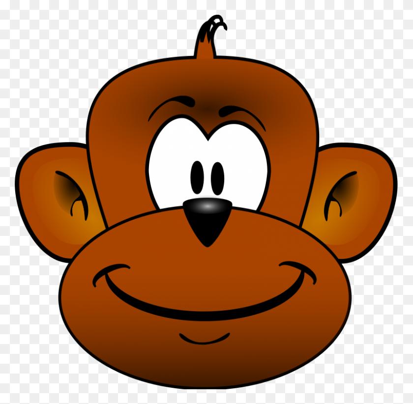 Cute Monkey Head Clip Art - Panda Head Clipart