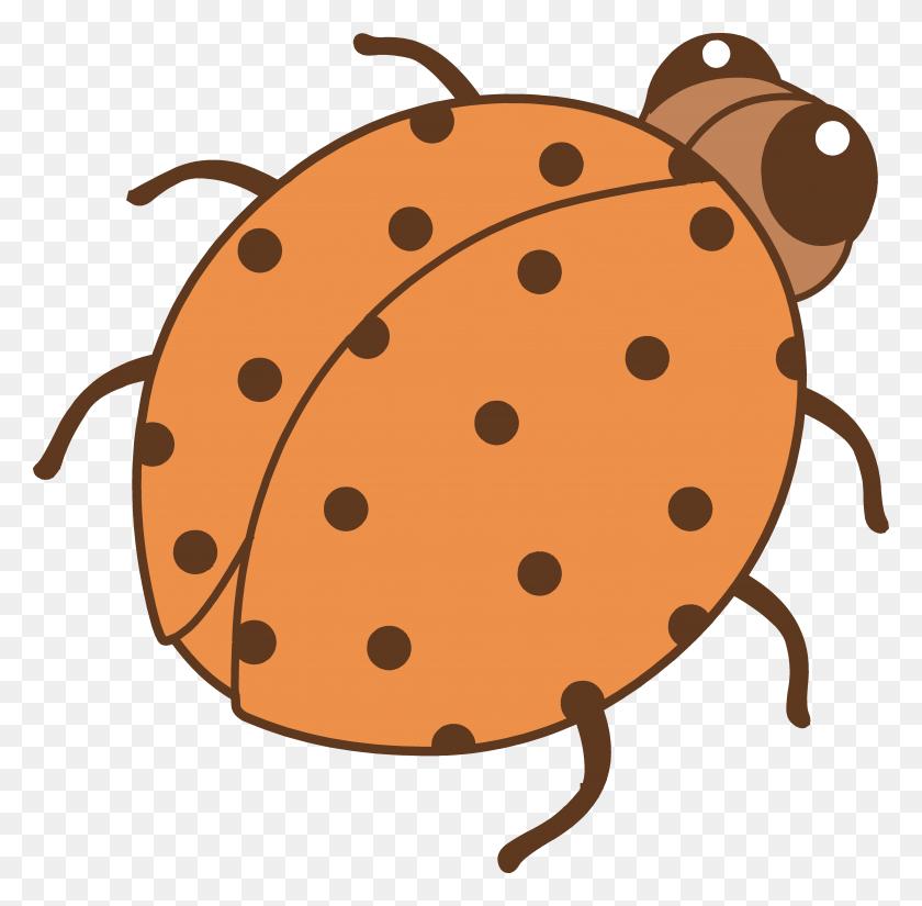 Cute Orange Ladybug Clip Art - Cute Ladybug Clipart