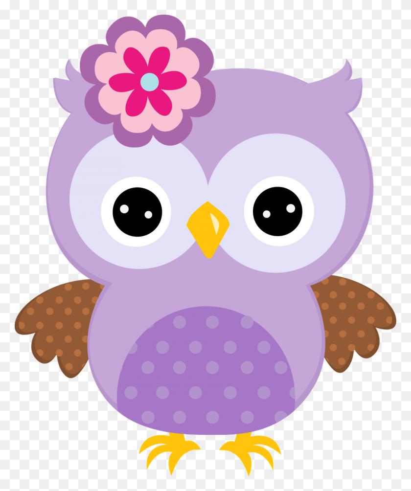 Cute Owl, Cute Owl, Owl Clip Art - Purple Owl Clipart