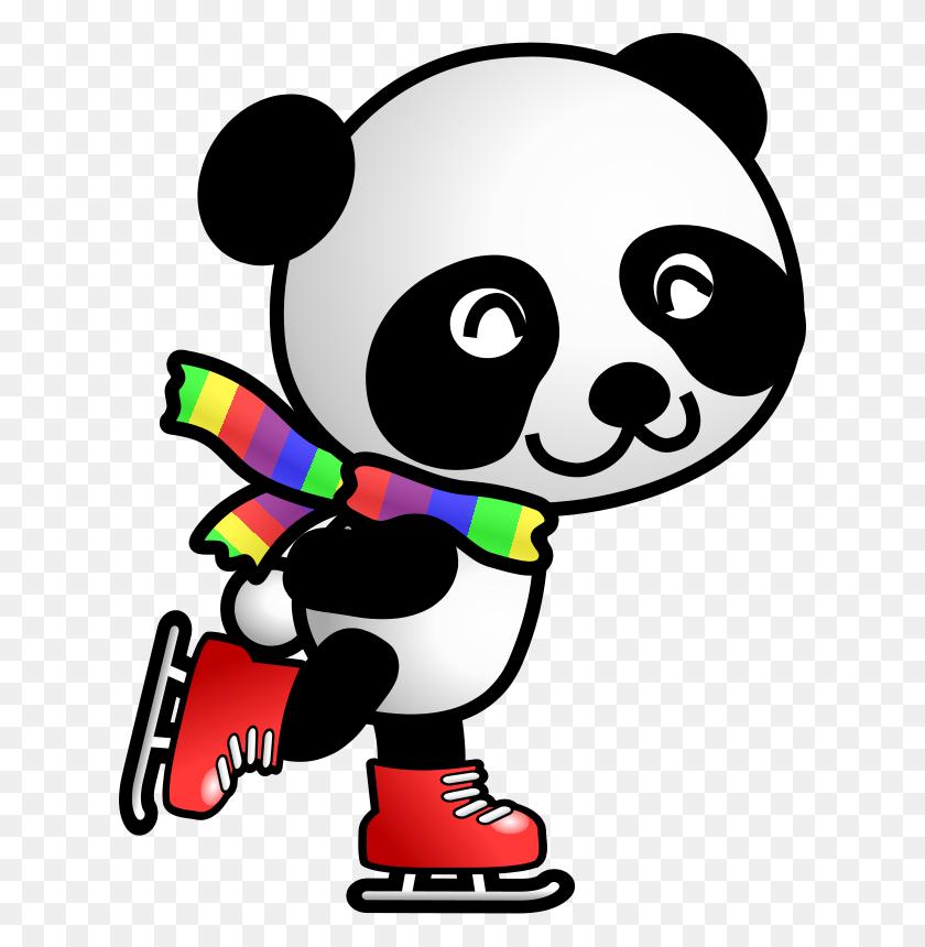 Cute Panda Clipart - Cute Animal Clipart
