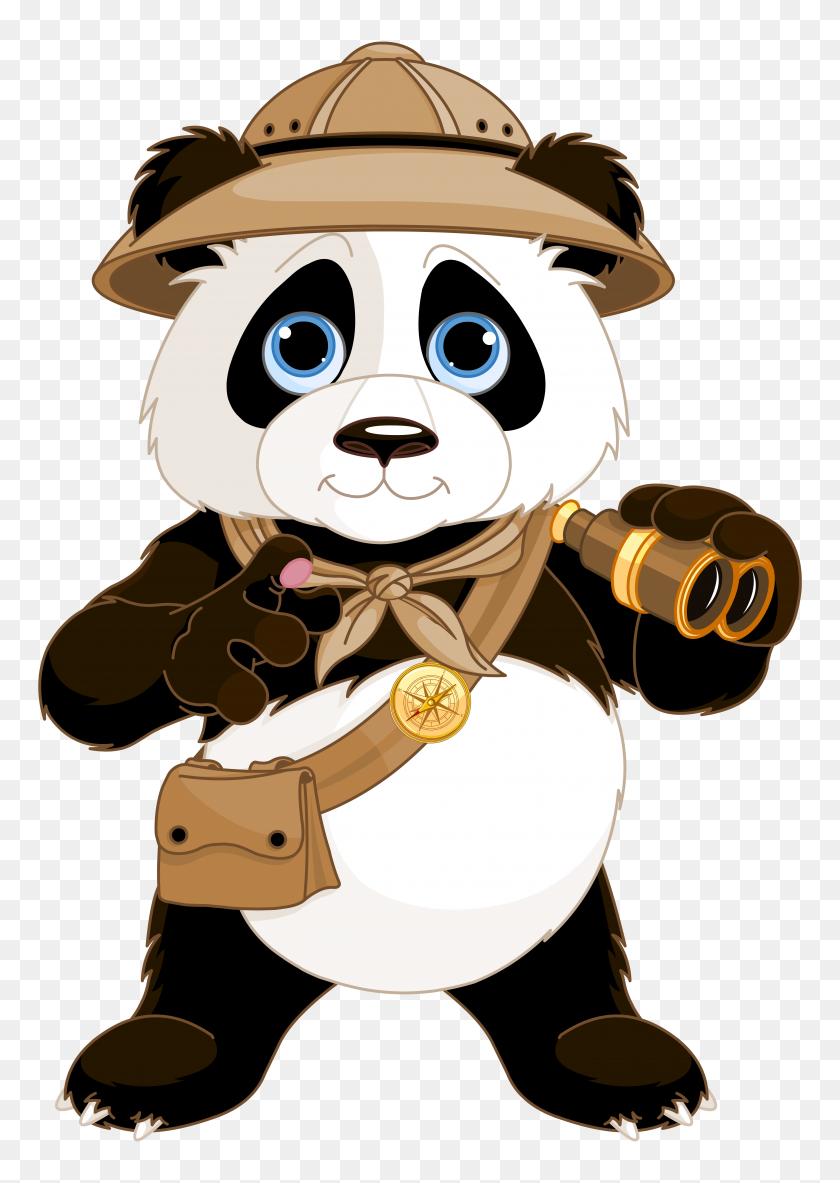 Cute Panda Png Clipart Image High Quality Panda - Coloring Pages PNG