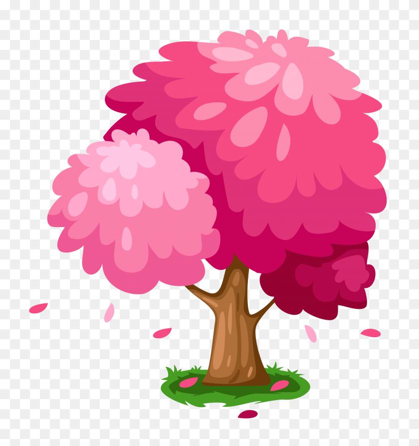 Cute Pink Spring Tree - PNG Cute
