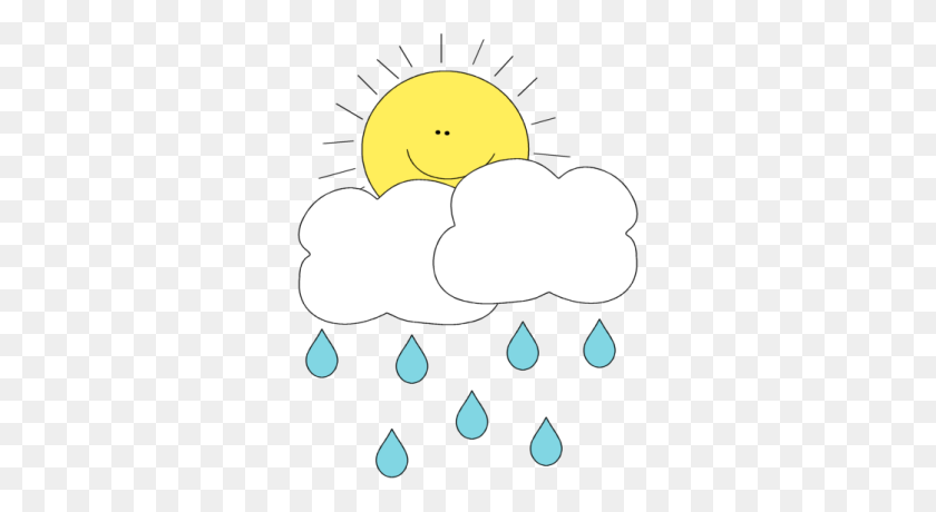 Cute Raindrop Clipart - Raindrop Clipart