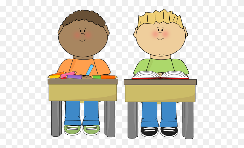 Cute Student Raising Their Hand And Asking A Question Clipart - Raising Your Hand Clipart