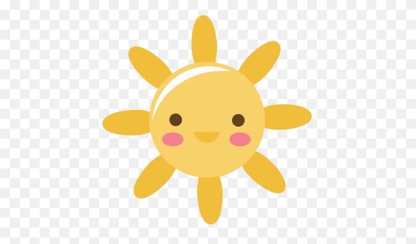 Cute Sun With Sunglasses Clipart - Sun Clipart Cute