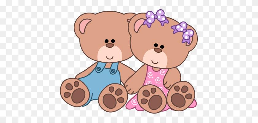 Cute Teddy Bear Clip Art Baby Girl Teddy Bear Clip Art Girl - Sleeping Bear Clipart