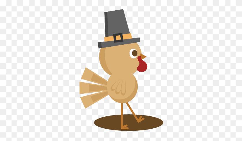 Cute Turkey Clipart - Happy Thanksgiving Turkey Clipart