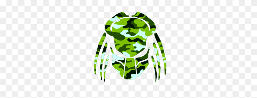 Cybergoth Cut Lime Green Camo Cut Free Images - Camo Clipart