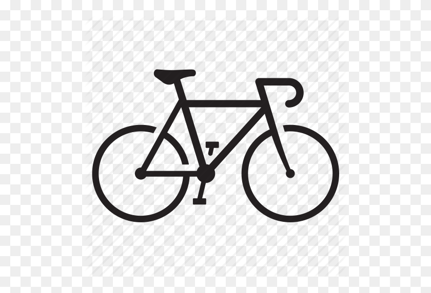 Cycling Icon Png Bicycle, Bike, Biking, Cycling - Bicycle PNG