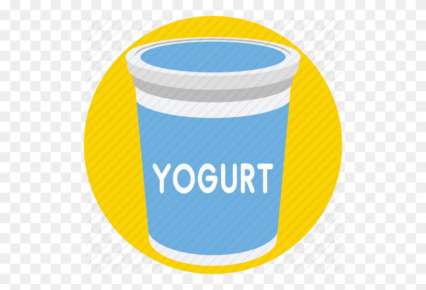 Dairy, Food, Milk, Yogurt, Yogurt Cup Icon - Yogurt PNG